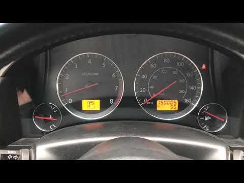 Как убрать ошибку airbag на infiniti fx35