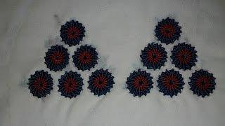 getlinkyoutube.com-تطبيق الطرز التركي على الجلابة الجزء الأول tarz torki Arab Embroidery