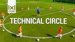 getlinkyoutube.com-Technical Circle - Creative Football/ Soccer Drill for Kids