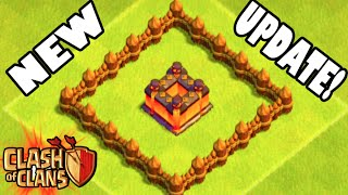 "getlinkyoutube.com-Clash of Clans - NEW UPDATE! ""FIRST EVER ATTACK ON NEW MAXED BASE!"" New Update Walls & Features!"