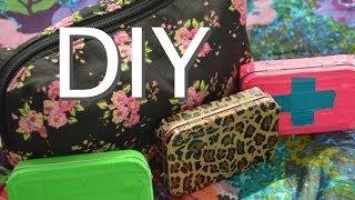 getlinkyoutube.com-Locker Essentials Bag + DIY Emergency Kit