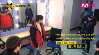 getlinkyoutube.com-F(x) Amber's Hidden Camera [with Eric Nam] - English Subs