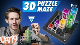 getlinkyoutube.com-3D Maze Logic Game