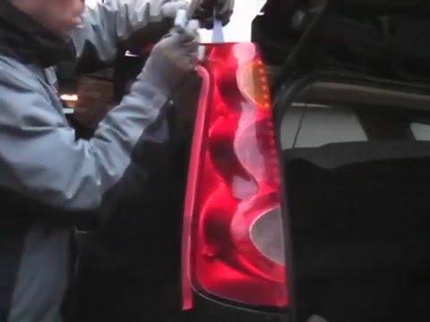 Nissan Note Rear Light Cluster Removal alternative method