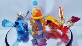 getlinkyoutube.com-레고 키마 70156 불 VS 얼음 배틀팩, 라발과 팽거의 스피도즈 정품 조립기