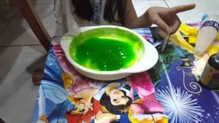 getlinkyoutube.com-Cara buat slime dengan povinal dan GOM