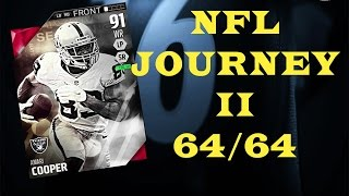 getlinkyoutube.com-Tons Of Packs - Amari Cooper Journey Solos Are Done - Madden NFL 16 - MUT - Pack Opening