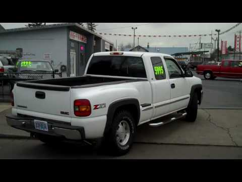 1999 GMC Sierra 1500 Pickup Problems and Repair Information