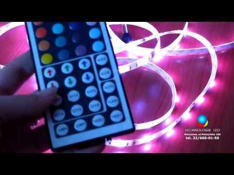 Sterownik do taśm RGB 44 K IR