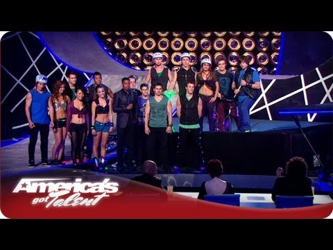 All Wheel Sports Stunt Rider Crashes  - America's Got Talent Semifinals