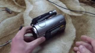 getlinkyoutube.com-Ремонт видеокамеры Sony DCR-HC3E зброс ошибка 91:01