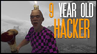getlinkyoutube.com-9 YEAR OLD HACKER (Rust)