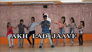 Akh Lad Jaave  Dance I Loveratri | Choreography by shravan Prajapati