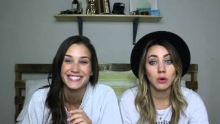 getlinkyoutube.com-REACTING TO OLD PICTURES (Subtitulado) Shannon & Cammie