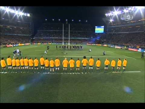 Haka - New Zealand v Australia - Rugby World Cup 2011