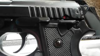 getlinkyoutube.com-PISTOLA  TAURUS PT 92 AIRSOFT METAL SLIDE SPRING DA CYBERGUN