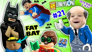 getlinkyoutube.com-FAT LEGO BATMAN? Movie Game! Alfred Shrinks Bat Suit (Let's Build & Play LEGO Dimensions YEAR 2 #21)