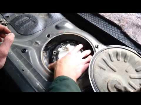Honda Accord cl 7-cl 9 Замена топливного фильтра.
