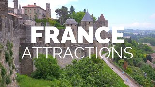 10 Top Tourist Attractions in France - Travel Video width=
