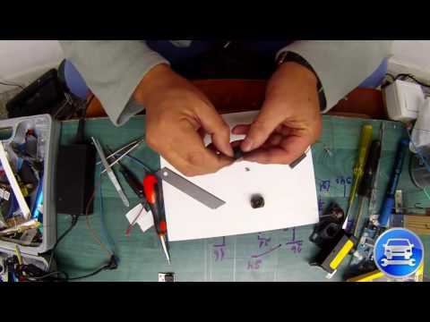 How to Repair a HEADLIGHT LEVEL ADJUSTMENT MOTOR Chrysler Voyager Ремонт моторчика корректора фар
