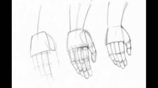 how to draw anime hands youtube