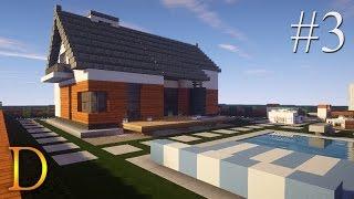 MINECRAFT PORADNIK - Jak zbudować: modern house z basenem [#3]
