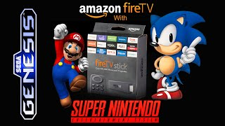 getlinkyoutube.com-Amazon Fire TV Stick With Kodi 15.2 & Sega Genesis/ SNES Games