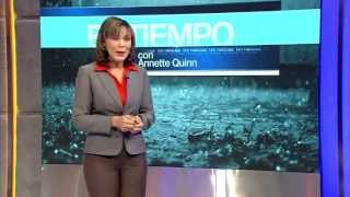 getlinkyoutube.com-Annette Quinn en TVN: Reporte del clima y consejos de reducción del riesgo.