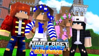 LITTLE CARLY AND LITTLE KELLY RUN AWAY!! w/Little Leo and Raven (Minecraft Roleplay)
