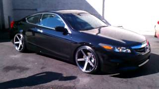 "getlinkyoutube.com-Accord on 20"" stance wheels daniels ride"