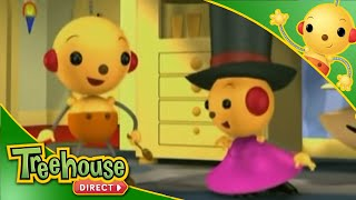 getlinkyoutube.com-Rolie Polie Olie - Where's Pappy? / Hopin and a Hoppin / Just Like Dad - Ep.6