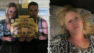 getlinkyoutube.com-THE OUIJA BOARD CHALLENGE! *DO NOT ATTEMPT* - SHE GOT POSSESSED!?