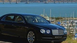 CNET On Cars - 2014 Bentley Flying Spur: One big car, one big engine