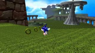 getlinkyoutube.com-Sonic Adventure DX Mod - Prototype Windy Valley Act 3 WIP