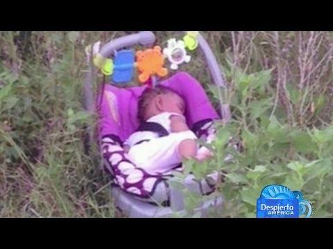 Sana y salva fue encontrada una bebé que fue raptada en Houston