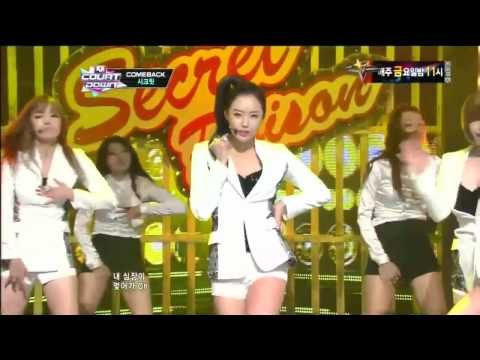 시크릿_Poison (Poison by Secret @Mcountdown 2012.09.13)