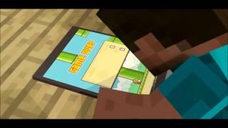 getlinkyoutube.com-Flappy Bird ! - A Minecraft Animation