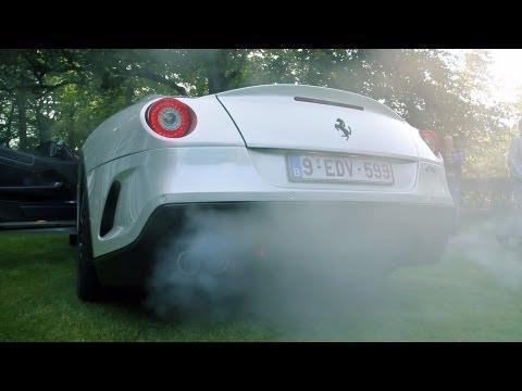 Ferrari 599 GTO - Loud revs, Tunnel sound, Acceleration!! 1080p HD