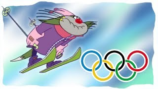 ❄️WINTER OLYMPICS 2018❄️ Oggy and the Cockroaches 🎿JACK SKIS 🎿 Winter Sport🏆