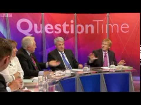 Dr Phil Hammond attacks Andrew Lansley's anti-NHS bill on Question Time