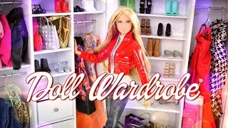 getlinkyoutube.com-DIY - How to Make a Doll Wardrobe - Handmade - Fashion - Doll - Crafts