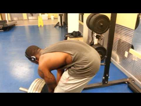 Bobbo bent over row 270