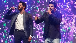 getlinkyoutube.com-Dulqar Salman & Gopi Sundar singing Johny Mone Johny