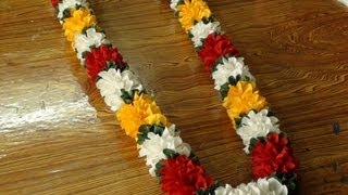 getlinkyoutube.com-Do it yourself a polyester cloth garland