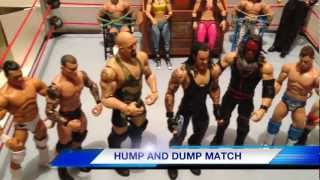getlinkyoutube.com-GTS WRESTLING: Saturday Assault! Mattel action figure matches WWE parody animation video
