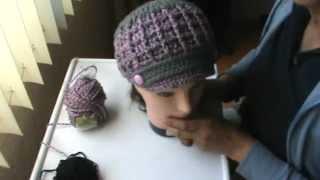 getlinkyoutube.com-gorra a crochet