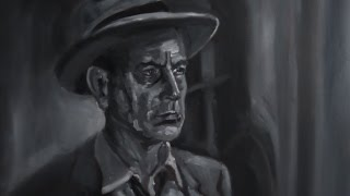 getlinkyoutube.com-Film Noir - Oil Painting