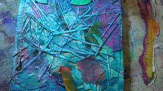 "getlinkyoutube.com-""Table Scraps"" Mixed Media Canvas"