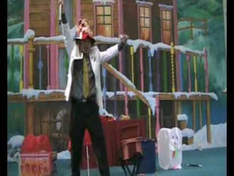 UNCLE FISHY the Clown Magician VIDEO 3 Stage Comedy Magic Youtube