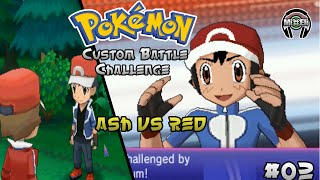 getlinkyoutube.com-Pokemon Battle Challenge 3: Trainer Ash VS Trainer Red